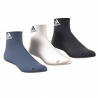 ADIDAS-PER ANKLE T 3PP   NAVY/WHITE/BLUE 3PACK