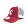 NEW ERA-MLB CLEAN TRUCKER  SCARLET/White NOS