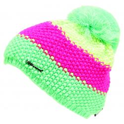 Dámska zimná čiapka BLIZZARD-Tricolor CAP yellow/pink/green W