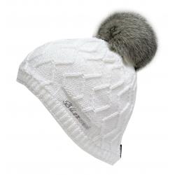 Dámska zimná čiapka BLIZZARD-Rabbit SW CAP WHITE W