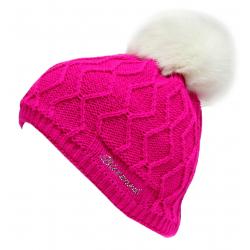 Dámska zimná čiapka BLIZZARD-Rabbit SW CAP PINK W