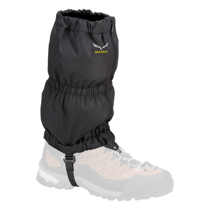 Turistické návleky SALEWA-Outdoor návleky čierne L - 1f86ed7d95