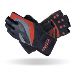 Fitness rukavice MADMAX NEW EXTREME 2ND EDITION black/red