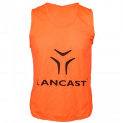 Chlapčenský rozlišovací dres LANCAST Training bib New Logo ORANGE boys