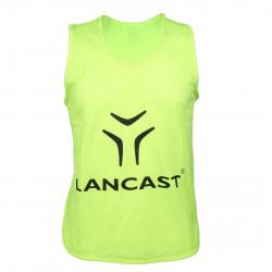 Chlapčenský rozlišovací dres LANCAST Training bib New Logo YELLOW boys