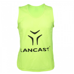 Rozlišovací dres LANCAST Training bib New Logo YELLOW men