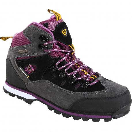 Turistická obuv vysoká EVERETT-Jina - Dámske zimné vychádzkové topánky značky Everett s nepremokavou membránou TexDryve, vďaka ktorej budú Vaše nohy v suchu a pohodlí.