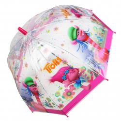 JFK Detský dáždnik, manuálny, neskladací 48 cm, Trolls