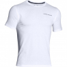 UNDER ARMOUR-Charged Cotton SS T-White