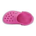 CROCS-Crocband Clog K Party Pink - Detská obuv značky Crocs v klasickom dizajne.