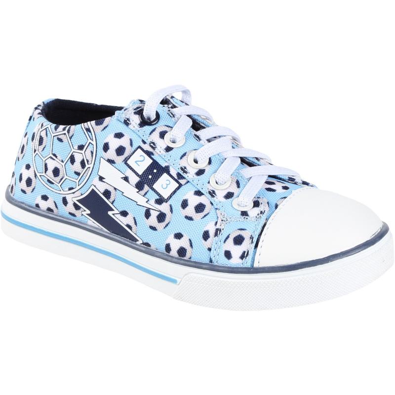 AUTHORITY-Chip Blue - Detská obuv značky Authority v chlapčenskom dizajne.