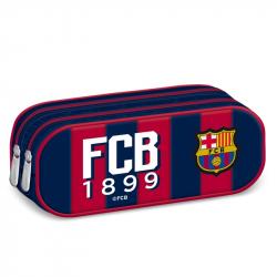 FC BARCELONA FCB COL Púzdro na ceruzky 478-2zips MIR