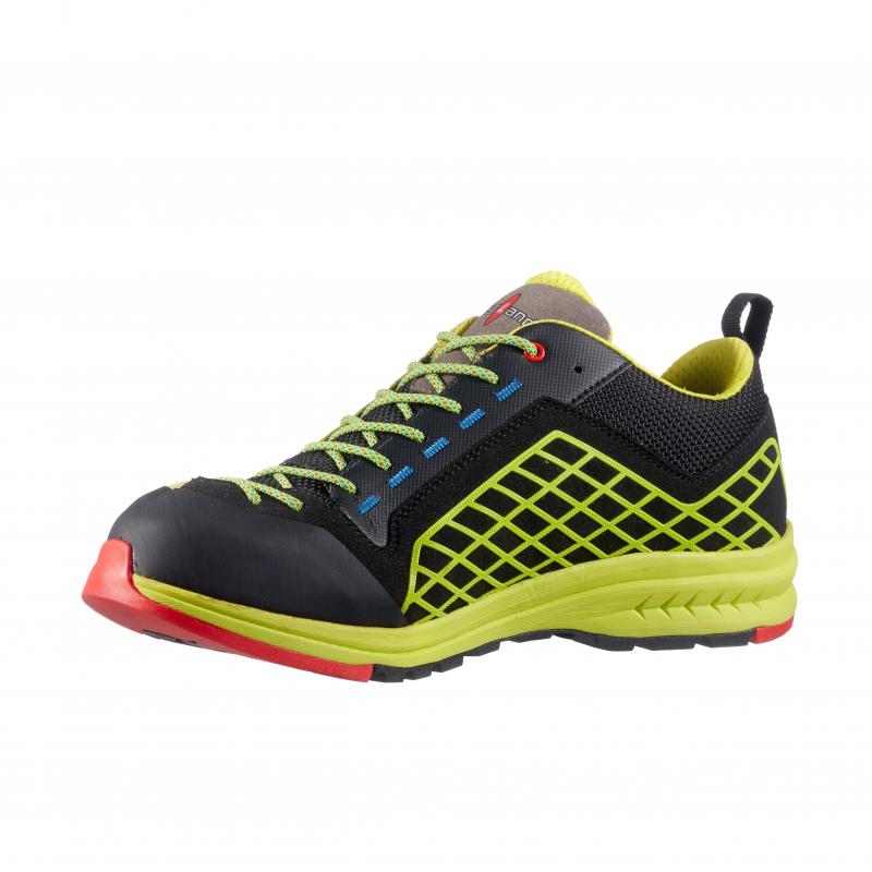 Pánska turistická obuv nízka KAYLAND-GRAVITY BLACK LIME -