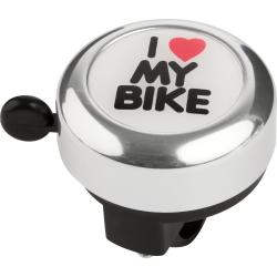 "KROSS-Bicycle bell ""I LOVE MY BIKE"" silver"