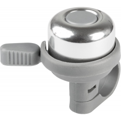"""KROSS-Bicycle bell """"JINGLE"""" alloy top, plastic base&leve"""