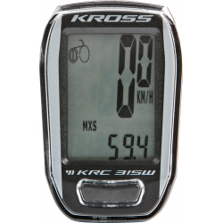 KROSS-Bicycle computer KRC 315W 15-funct, wireless GYBK