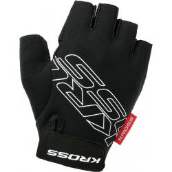 KROSS-Gloves BLACK/WHITE Depart SF