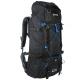 REGATTA Blackfell 2 60+10 Black/FrnBlu - Turistický ruksak značky Regatta z polyesterovej ripstop tkaniny, ktorá zaručuje odolnosť.