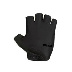 Cyklistické rukavice R2-Riley - čierna/čierna