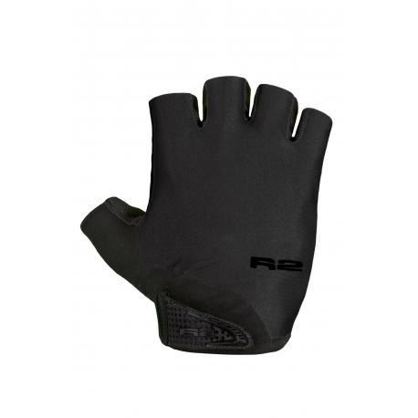 Cyklistické rukavice R2-RILEY Black 2020