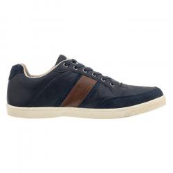 Pánska vychádzková obuv KAPPA CARMELO LOW NAVY/COGNAC
