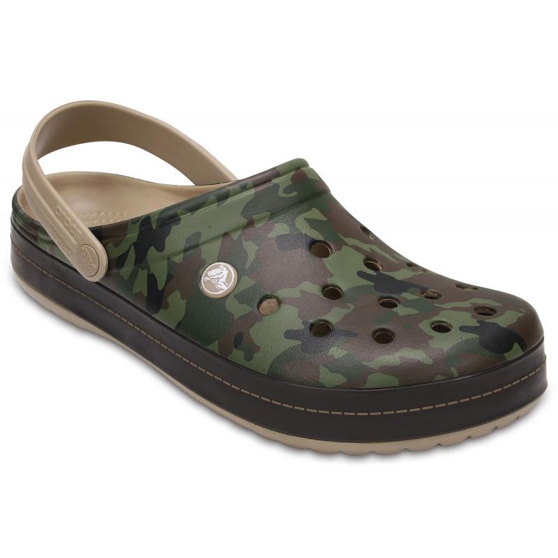 3cbd2587ada Rekreačná obuv CROCS-Crocband Camo II Clog - Tumbleweed - Unisex obuv značky  Crocs vo