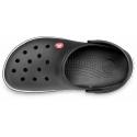 Rekreačná obuv CROCS-Crocband Black - Obuv značky Crocs je vyrobená z ľahkého a odolného materiálu Croslite ™.