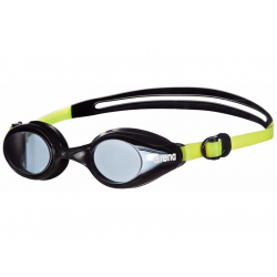 Juniorské plavecké okuliare ARENA-Sprint Jr. kouřová-černá-žlutá