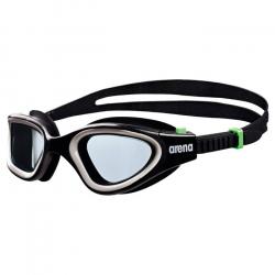 Plavecké okuliare ARENA Envision černá-kouřová-zelená