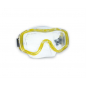 Potápačská maska AQUALUNG-IBIZA PRO L - Vysokokvalitná maska s antibakteriálnym, kryštalickým silikónom a veľkým panoramatickým 4mm temperovaným bezpečnostným sklom.