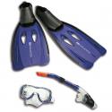 AQUALUNG Set Karibik - Set značky Aqualung, ktorý obsahuje potápačskú masku, šnorchel a plutvy.