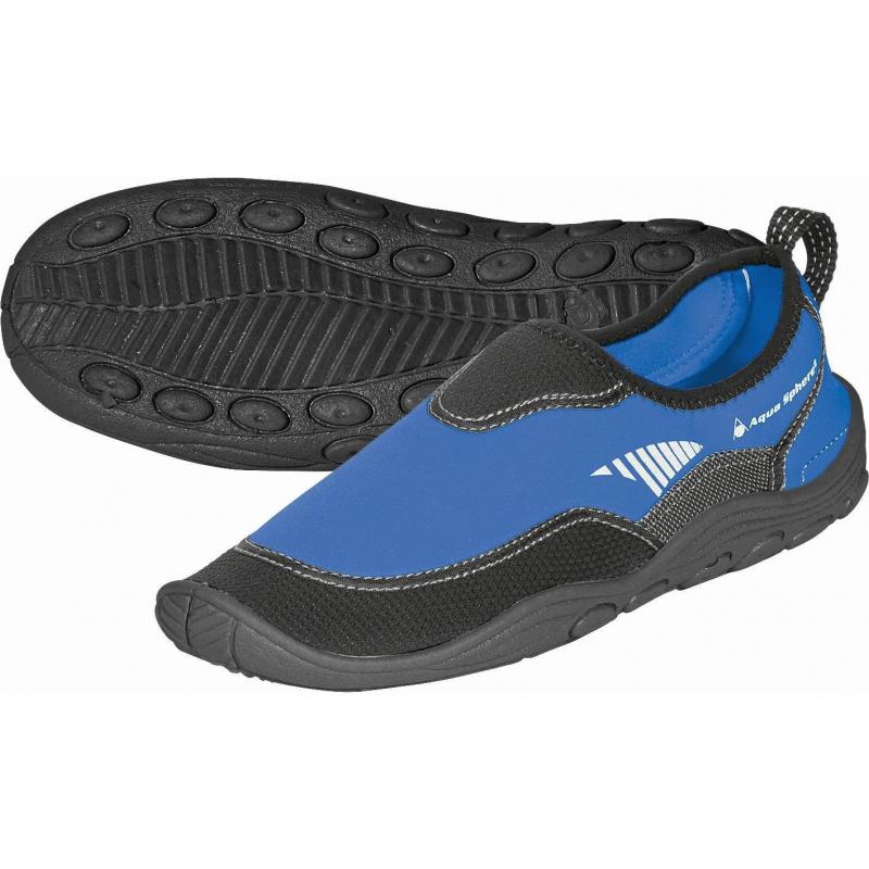 AQUALUNG BEACHWALKER RS blue/black - Flexibilná neoprénová obuv značky Aqualung.