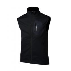 Pánska turistická vesta NORTHFINDER-ROLPH-black