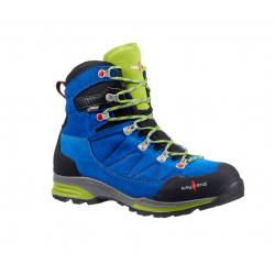 Turistická obuv vysoká KAYLAND TITAN ROCK GTX COBALT LIME/KRK
