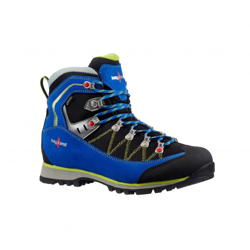 49418bb7cc48 Pánska turistická obuv vysoká KAYLAND-PLUME MICRO GTX COBALT LIME KRK -  Pánska turistická