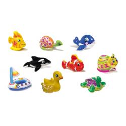 Nafukovacia hračka KOOPMAN-PUFF N PLAY WATER TOYS, 9 ASSO