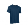 UNDER ARMOUR-Charged Cotton SS T-Blue dark