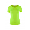 OUTHORN-T-SHIRT FITNESS TSDF603-NEON LIME