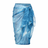 REHALL SISSY-R Womens Pareo-Blue dark