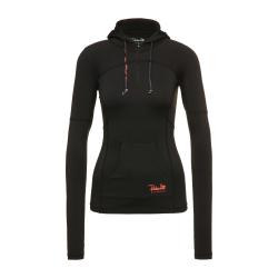 Dámska tréningová mikina s kapucňou REHALL CANDY-R Womens Fitness Jacket-Black