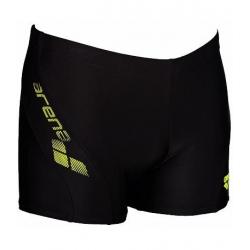 Pánske plavecké boxerky ARENA BYOR černá-bali zelená 13