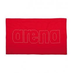 Športový uterák ARENA-Haiti červená-bílá
