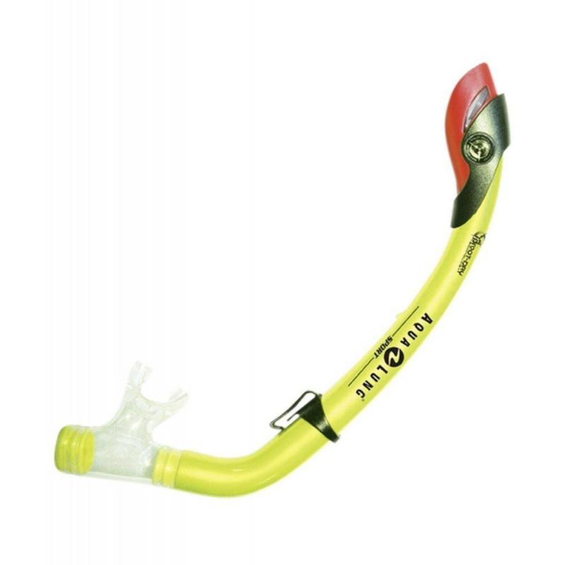 Juniorský potápačský respirátor AQUALUNG-PARADISE PRO JUNIOR - Juniorský anatomicky tvarovaný šnorchel značky Aqualung s odvzdušňovacím ventilom.