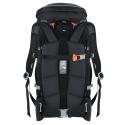 Turistický ruksak HANNAH-Arrow 35 anthracite - Jednokomorový batoh pre vysokohorskú turistiku značky Hannah, vhodný napríklad aj pre ferraty.