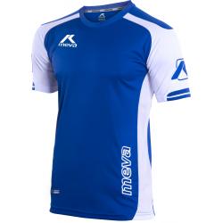 Pánsky futbalový dres s krátkym rukávom MEVA Shirt LONDON-Blue