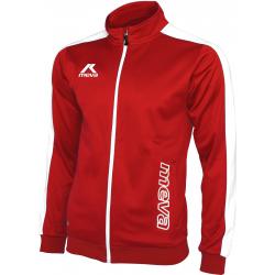 Pánska futbalová mikina MEVA Jacket TUNISIA-Red