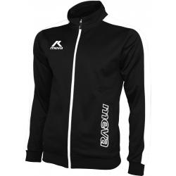 Pánska futbalová mikina MEVA Jacket TUNISIA-Black