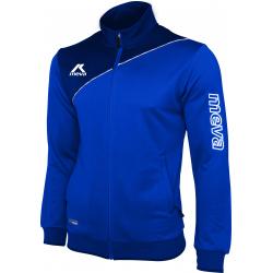 Pánska futbalová mikina MEVA Jacket AMERICA-Blue