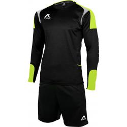 Pánsky futbalový set oblečenia MEVA Set SANTIAGO Black