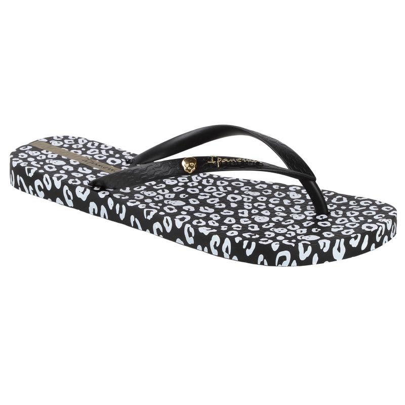 Dámske žabky (plážová obuv) IPANEMA-Animal Print Fem - Dámska obuv značky Ipanema v zaujímavom dizajnom inšpirovanom svetom zvierat.